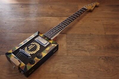ShonKy ShonKybox6, 6 String Electric cigar box. Recycled Upcycled!