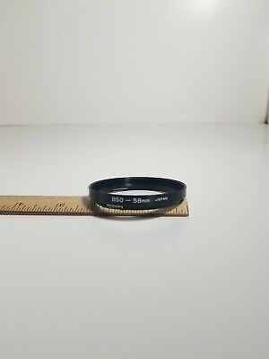 B50 to 58mm Step Ring for Vintage Hasselblad - New - Boxed - Made in Japan