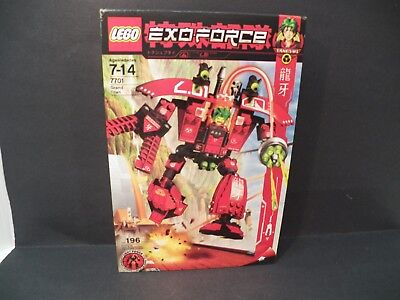 LEGO 7701 - EXO-FORCE Takeshi Grand Titan  New in Factory Sealed Box