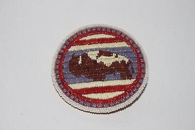 GREAT CONDITION Native American Beaded Belt Buckle with Quillwork Buffalo