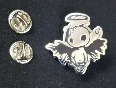 Stainless Steel Angel Hat Lapel Pin Double Posted Numbered (varies)
