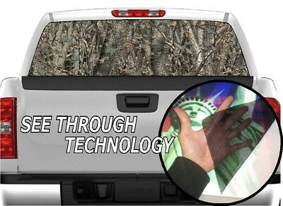 Camo Break Up Infinity Rear Window Graphic Decal Wrap Camouflage Tint Truck SUV