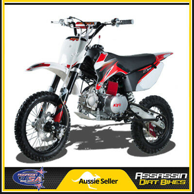 Tr 140 140Cc Assassin Kayo Dirt Bike Usa Motor Pit Mini Trail Pro