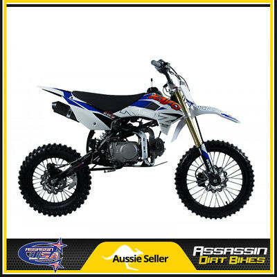Krz140 140Cc Assassin Kayo Dirt Bike Usa Motor Pit Mini Trail Pro