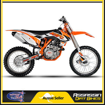 Assassin Kayo K6 Dirt Bike EFI 250CC 4 STROKE RACE SPEC FUEL INJECTED 18'' REAR