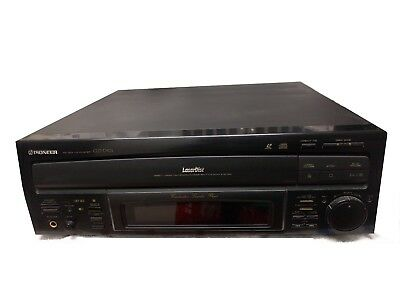 Pioneer CLD-D501 LaserDisc Player Works Great. No Remote.