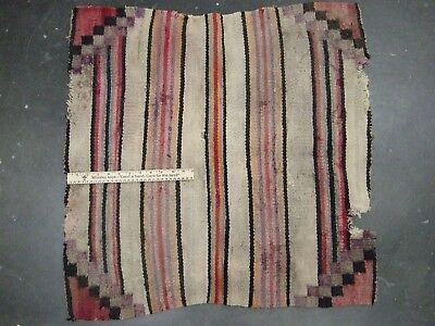 Fine Old Missouri Collection Arrowheads Artifacts Historic Woven Blanket
