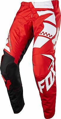 NEW 2018 Fox 180 Sayak Red White Black Motocross MX Dirt Bike Off Road Pants 34
