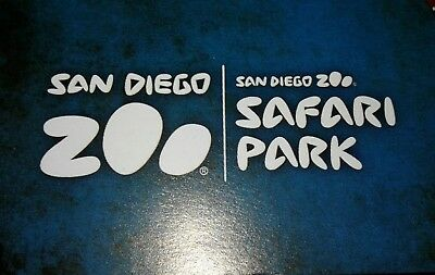 (3) San Diego Zoo/ Safari Park single day admission passes.