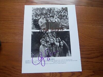 Amy Locane Adam Horovitz Autographed 8x10 Lost An Photo Hand Signed Beastie Boys