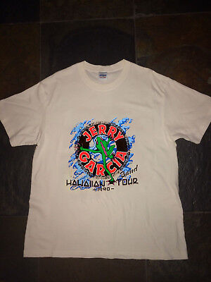VTG grateful dead shirt 1990 GDM Jerry Garcia Band Gildan REPRINT
