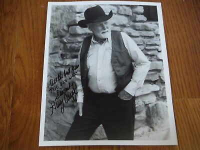 Harry Carey Jr Autographed 8x10 Hand Signed Photo The Searchers