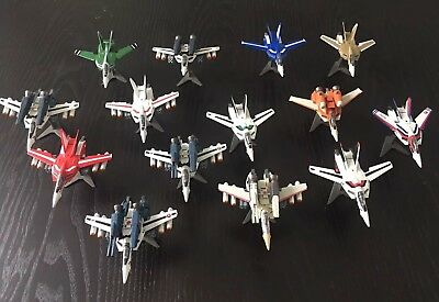 Macross Chara Works Valkyrie Collection 1/144 Scale VF-1 Set 1 And 2