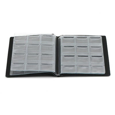 1 X Professional Coin Collection Book Album for 120 Pcs Coins Portable I5FR