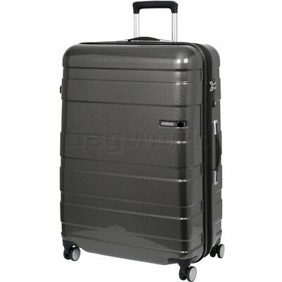 American Tourister HS MV+ Deluxe Large 79cm Expandable Hardside Suitcase Black C