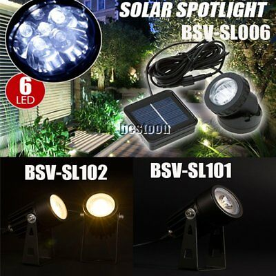 Solar Powered Outdoor GTrden Landscape Yard Spot Light Lawn Lamp Spotlight GTFR