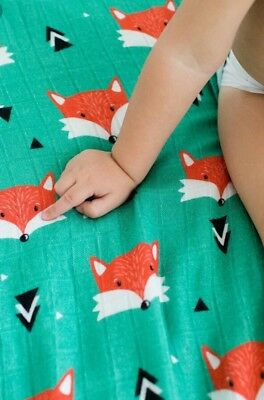Tula TRICKSTER CUDDLE ME Blanket *SOLD OUT* Adult Size Fox Throw *NWT*