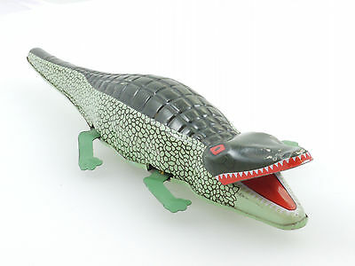 MS 224 Krokodil Crocodile Blech Uhrwerk China imposantes Tier 1410-14-43