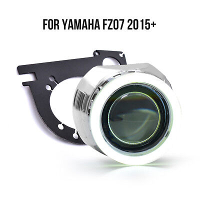 KT LED Halo Eye HID Projector Lens for Yamaha FZ 07/MT 07 2015 2016 2017+