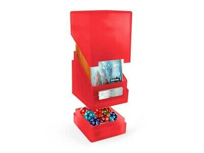 Ultimate Guard - MONOLITH DECK CASE 100+ Ruby Jewel Edition - Gaming Box