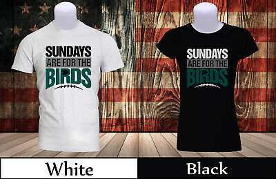 SUNDAYS ARE FOR THE BIRDS Hoodie Wentz Fly Eagles Philadelphia Jersey Funny 1