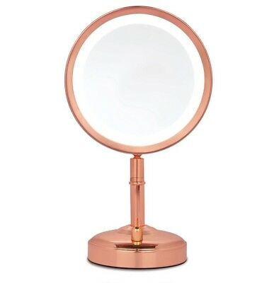 ROSE GOLD No7 ILLUMINATED MAKE UP MIRROR -BRAND NEW SEALED RRP £49.99 (FREE P&P)