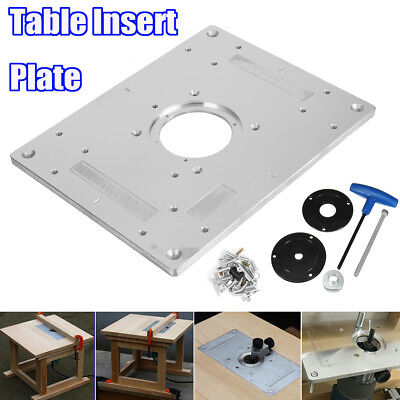 Router lift router table height adjustment raiser raizer plunge aluminum router table insert plate for plunge router diy woodworking bench top greentooth Gallery