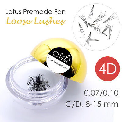 80 Fans Lotus Pre-made 4D Loose Pre-fan Lash Semi Permanent Eyelash Extension