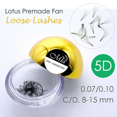80 Fans Lotus Pre-made 5D Loose Pre-fan Lash Semi Permanent Eyelash Extension