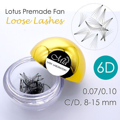 80 Fans Lotus Pre-made 6D Loose Pre-fan Lash Semi Permanent Eyelash Extension