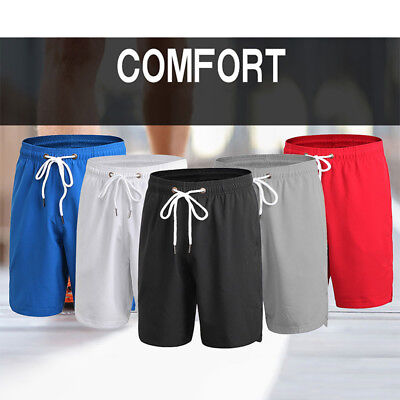 Fashion Casual Men'S Gym Sports Breathable All Matched Fitness Workout Shorts 07