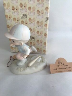 Vintage Precious Moments Lord I'm Coming Home Porcelain Figure