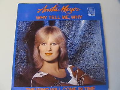 "7"" Single Anita Meijer - Why tell me, why 1981 Holland Pressung"