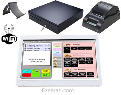 android ipad POS system Point of sale register for Restaurant Bar Takeout Pizza