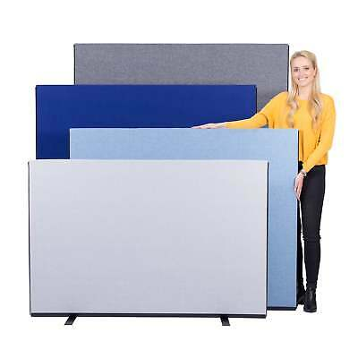 Office Screen Partiton Divider 1500mm W Luxury Woolmix - 4 Heights 14 Colours