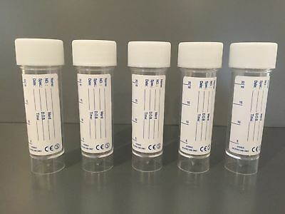 500 x 30 ML UNIVERSAL GRADUATED CONTAINER WITH LABEL (URINE SAMPLE)