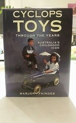 Cyclops Toys Throughout The Years Book.  Must For Collectors. Pedal Cars.