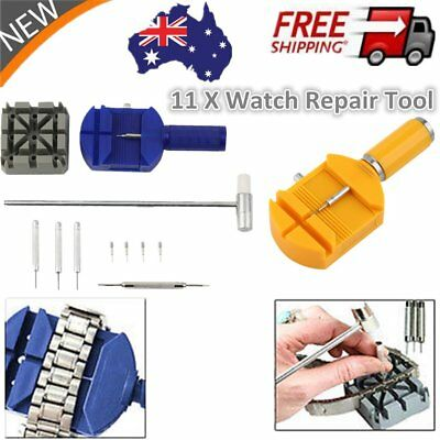 6 /11 PCS NEW Bracelet Wrist Watch Band Adjuster Link Strap Remover Repair To FK