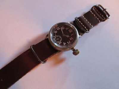 LANCO - Original 1930`s Fliegeruhr / B-Uhr 41 mm Navigator / Pilot Watch