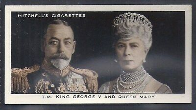 Mitchell-A Gallery Of 1935-#01- King George - Queen Mary