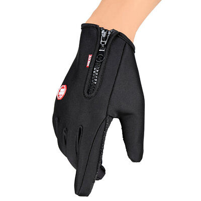Unisex Motorcycling Touchscreen Winter Outdoor Riding Non-Waterproof Gloves FK