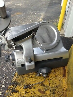 """Hobart 2912 Automatic 6-Speed 12"""" Meat Cheese Deli Slicer With Sharpener"""