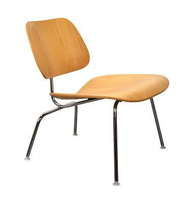 Vintage Eames Herman Miller LCM Lounge Side Chair Bent Plywood