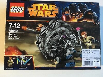 LEGO Star Wars General Grievous' Wheel Bike (75040)