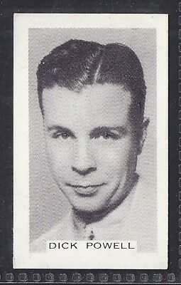 Premier Tobacco-Stage & Screen Personalities (Grey Back)-#048- Dick Powell
