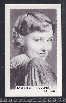 Premier Tobacco-Stage & Screen Personalities (Grey Back)-#085- Madge Evans
