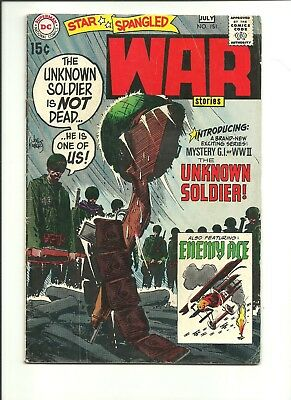 Star Spangled War Stories 151 1st Unknown Soldier 1970 classic Joe Kubert cover