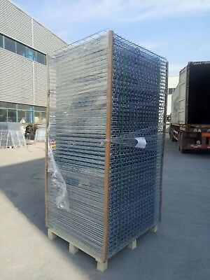 WIRE MESH DECKING 42″X 46″ Capacity 2500 L. Φ4.6mm,