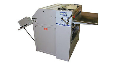 """Uv coater Graphic Whizard Vivid Coater XDC 530 """"INVENTORY REDUCTION SALE"""""""