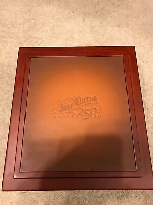 Jose Cuervo 250th Aniversario Extra Anejo wood leather collectors display box NW